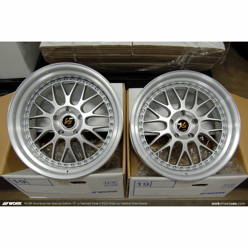 WORK Brombacher Special Edition (FS2)<br>19x9.5 +27 / 19x11.0 +12<br>5x120