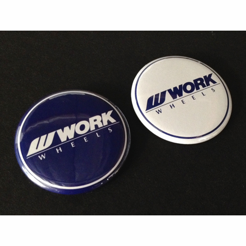 WORK Buttons Pack (Blue & White)