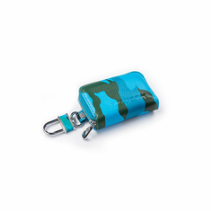 WORK Coin Pouch (Blue Camo)