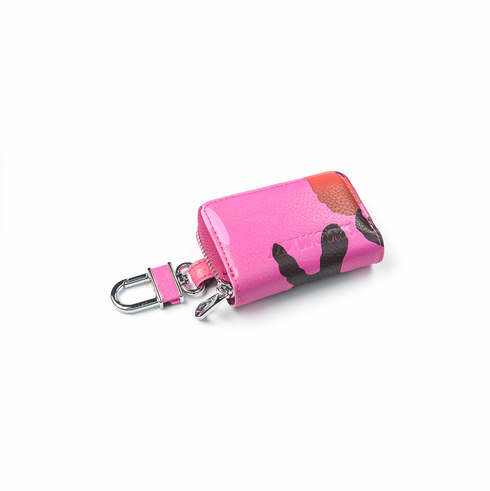 WORK Coin Pouch (Pink Camo)
