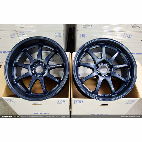 WORK Emotion XD9 (BLE)<br>18x9.0 +20 / 18x10.0 +18<br>5x114.3