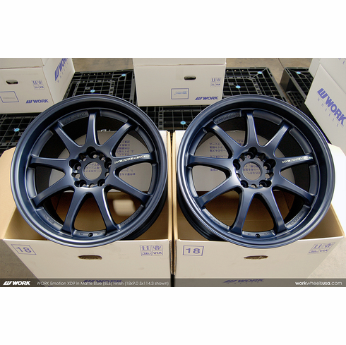 WORK Emotion XD9 (BLE)<br>18x9.0 +38<br>5x100