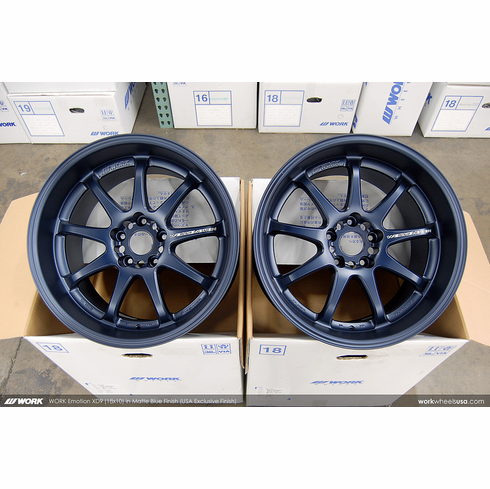 WORK Emotion XD9 (BLE)<br>(4) 18x10.0 +18<br>5x114.3