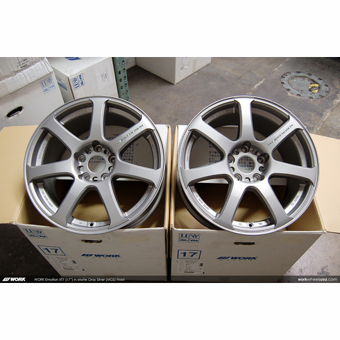 WORK Emotion XT7 (MGS)<br>(4) 17x8.0 +47<br>5x114.3