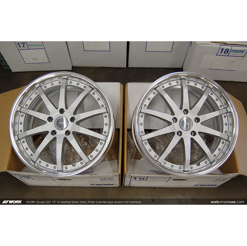 WORK Gnosis GS1 (MSL)<br>19x8.0 +38<br>5x120