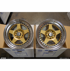 WORK Meister CR-01 (GLD)<br>(4) 16x8.0 +35<br>5x114.3