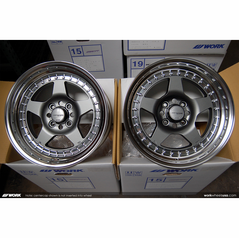 WORK Meister CR-01 (MGM)<br>15x8.0 +22 / 15x8.0 +20<br>4x100