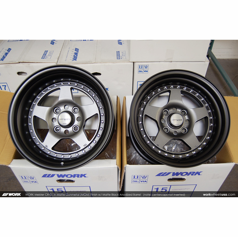 WORK Meister CR-01 (MGM)<br>15x8.5 +3 / 15x9.5 +1<br>4x114.3
