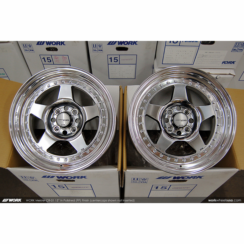 WORK Meister CR-01 (PP)<br>15x7.5 +29<br>4x100
