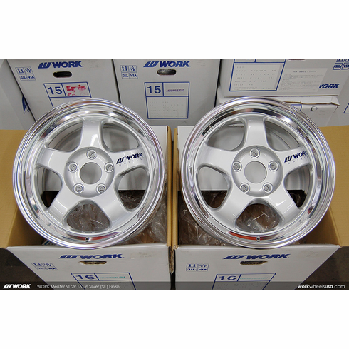 WORK Meister S1 2P<br>16x7.0 +42<br>5x114.3