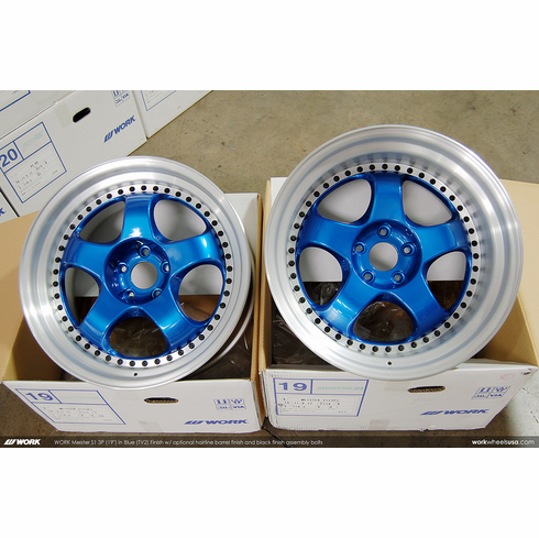 WORK Meister S1 3P (TV2)<br>(2) 19x9.5 +17 / (2) 19x11.0 +10<br>5x114.3