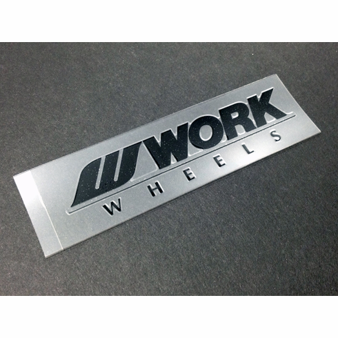 WORK Meister S1 Spoke Decal (Black)