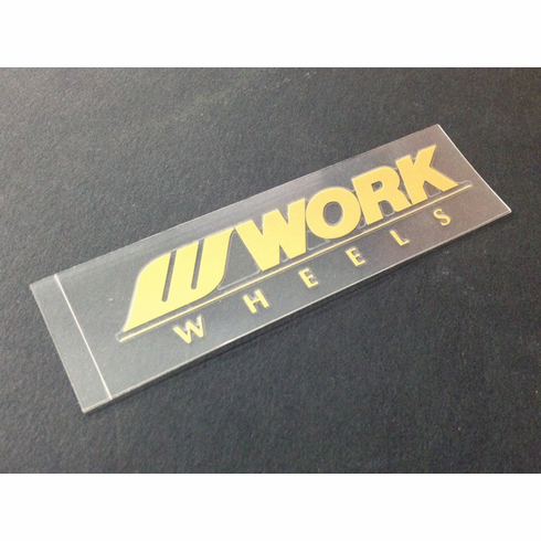 WORK Meister S1 Spoke Decal (Gold)