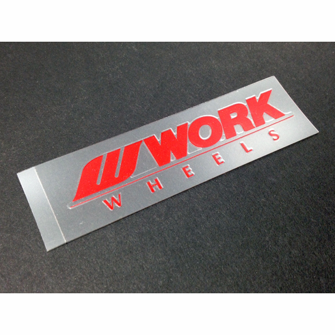 WORK Meister S1 Spoke Decal (Red)