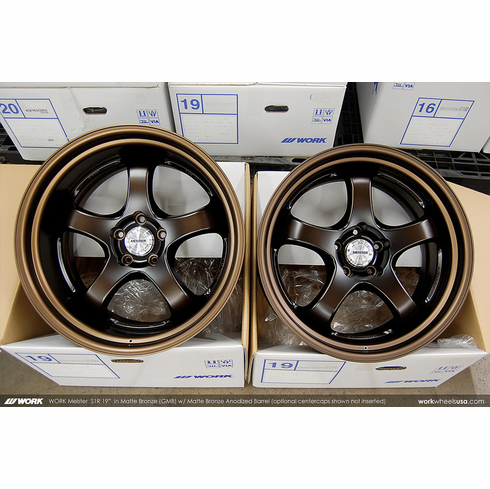WORK Meister S1R (GMB)<br> 19x9.5 +15 / 19x10.5 +0<br> 5x114.3