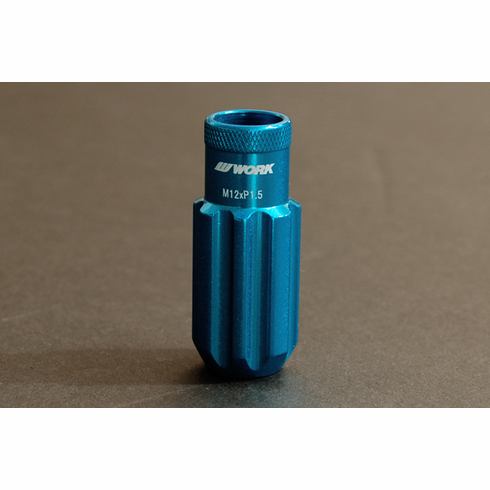WORK RS-R Type (Open End) Blue Replacement Lock Nut