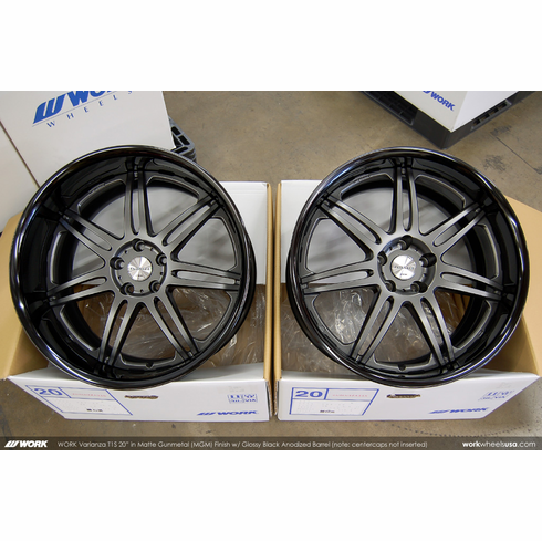 WORK Varianza T1S (MGM)<br>20x9.5 +15 / 20x10.5 +5<br>5x114.3