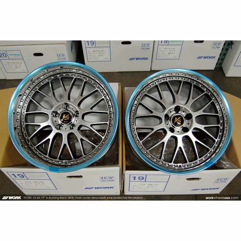 WORK VS-XX (BKB)<br>19x9.5 +29 / 19x10.5 +19<br>5x114.3
