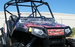 Polaris RZR - Half Windshield