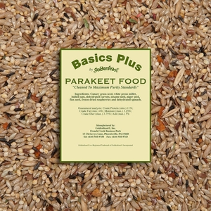 Goldenfeast Basics Plus Parakeet Food 13lb