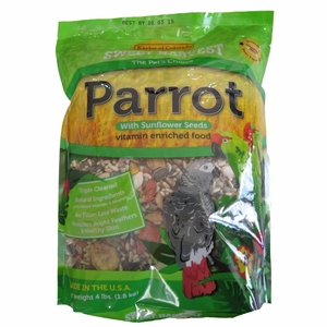 Sweet Harvest Vitamin Enriched Parrot with Sun 4lb