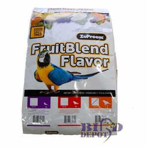 ZuPreem FruitBlend Large Bird Food 17lb