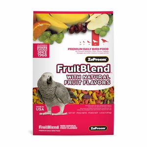 ZuPreem FruitBlend M/L Bird Food 17.5 lb