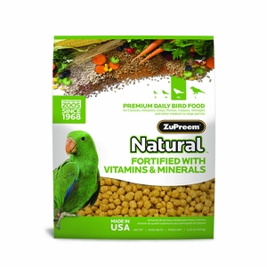 ZuPreem Natural Maintenance Medium/Large Parrot 20lb