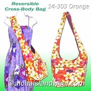 Reversible Cross-Body Shoulder Bag -303Orange