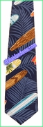 Hawaiian Necktie - 461Navy