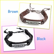 Aloha Genuine Leather Bracelet