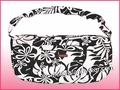 Large Hawaiian Print Travel/Gym Workout Carry-On Bag - 402Black