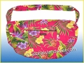Large Hawaiian Print Travel/Gym Workout Carry-On Bag - 121Pink