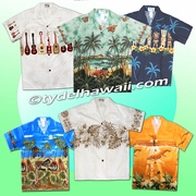 Border Design Boy Hawaiian Shirt