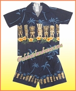 Boy Cabana Set - 451Navy