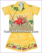Boy Cabana Set - 467Yellow