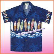 Boy Hawaiian Shirt - 415Navy