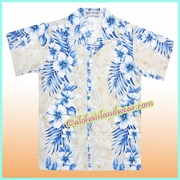 Boy Hawaiian Shirt - 805Cream
