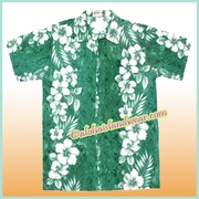 Boy Hawaiian Shirt - 805Green
