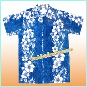 Boy Hawaiian Shirt - 805Navy