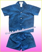 Hawaiian Boy Sets - 472Navy