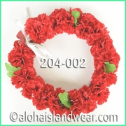 Carnation Palua Open Headband - Red