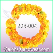 Carnation Palua Open Headband - Yellow/Orange