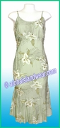 Classic Rayon Sun Dress - 809Green