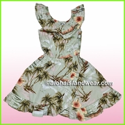 Girl Aloha Dress - 357Green