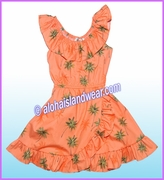 Girl Aloha Dress - 435Orange
