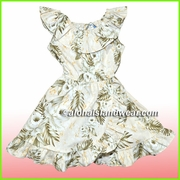Girl Aloha Dress - 456Cream
