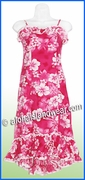 Girl Halau Dress - 342Pink