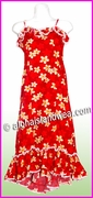 Girl Halau Dress - 417Red