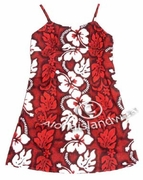 Girl Sun Dress - 213Red
